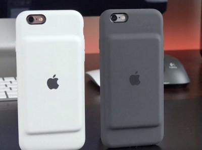 Smart Battery Case — чехол для iPhone 6S от Apple